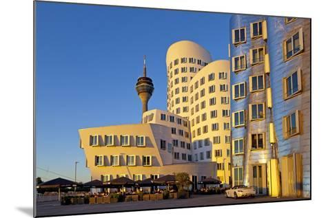 Europe, Germany, North Rhine-Westphalia, Dusseldorf, Alter Zollhafen, Modern Architecture-Chris Seba-Mounted Photographic Print