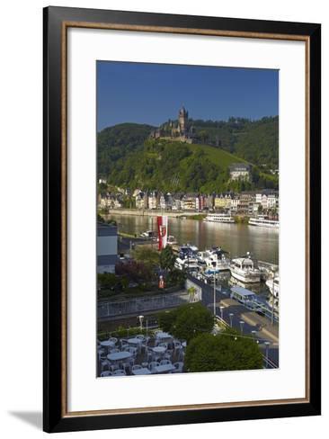 Germany, Rhineland-Palatinate, the Moselle, Cochem, Castle-Chris Seba-Framed Art Print