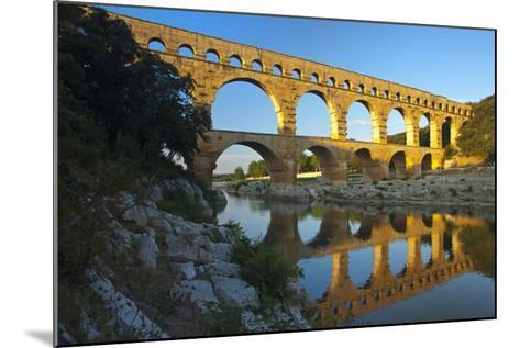 Europe, South of France, Provence, Avignon, Pont Du Gard, Aqueduct-Chris Seba-Mounted Photographic Print