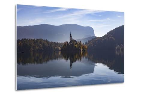 Slovenia, Bled, Bleder Lake-Simone Wunderlich-Metal Print