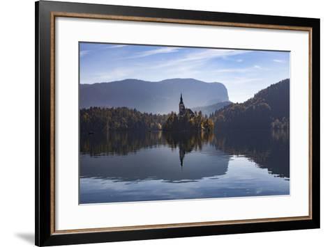 Slovenia, Bled, Bleder Lake-Simone Wunderlich-Framed Art Print
