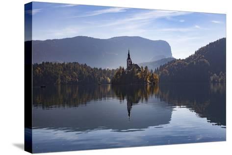 Slovenia, Bled, Bleder Lake-Simone Wunderlich-Stretched Canvas Print