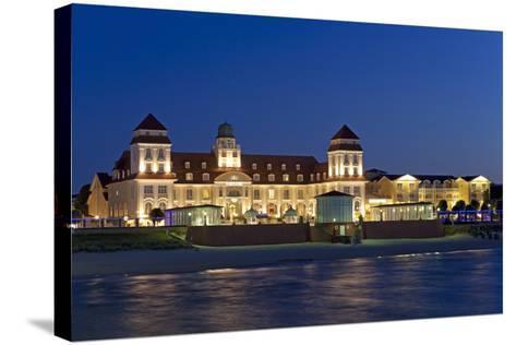 Germany, the Baltic Sea, Western Pomerania, Island RŸgen, Seaside Resort Binz-Chris Seba-Stretched Canvas Print