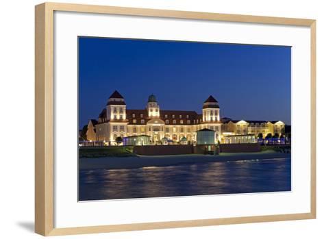 Germany, the Baltic Sea, Western Pomerania, Island RŸgen, Seaside Resort Binz-Chris Seba-Framed Art Print