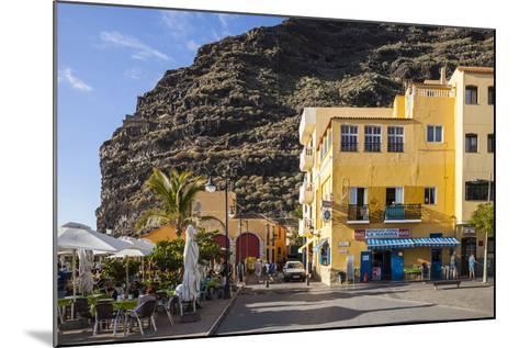Promenade, Puerto De Tazacorte, La Palma, Canary Islands, Spain, Europe-Gerhard Wild-Mounted Photographic Print