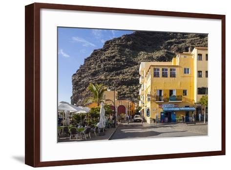 Promenade, Puerto De Tazacorte, La Palma, Canary Islands, Spain, Europe-Gerhard Wild-Framed Art Print