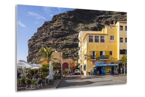 Promenade, Puerto De Tazacorte, La Palma, Canary Islands, Spain, Europe-Gerhard Wild-Metal Print