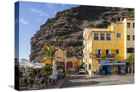 Promenade, Puerto De Tazacorte, La Palma, Canary Islands, Spain, Europe-Gerhard Wild-Stretched Canvas Print