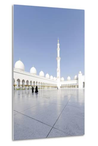 Inner Courtyard, Sheikh Zayed Bin Sultan Al Nahyan Mosque, Al Maqtaa-Axel Schmies-Metal Print