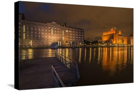 Duisburg, North Rhine-Westphalia-Bernd Wittelsbach-Stretched Canvas Print
