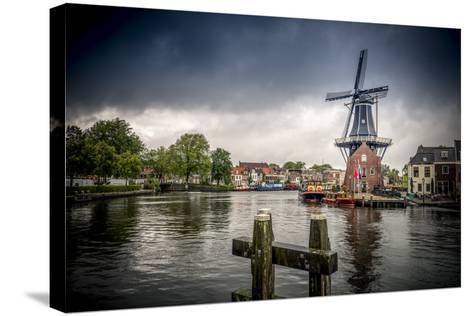 The Netherlands, Haarlem, Mill, Windmill, De Adriaan-Ingo Boelter-Stretched Canvas Print