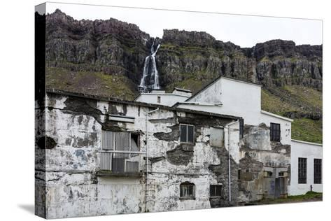 Iceland, Djupavik, Former Fish Factory-Catharina Lux-Stretched Canvas Print
