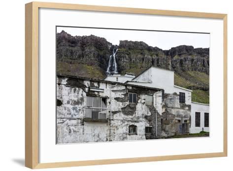 Iceland, Djupavik, Former Fish Factory-Catharina Lux-Framed Art Print