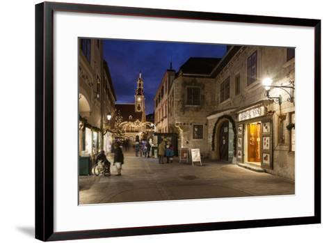 Austria, Lower Austria, Mšdling, Advent Market-Gerhard Wild-Framed Art Print