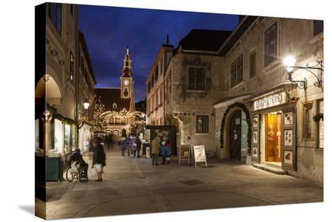 Austria, Lower Austria, Mšdling, Advent Market-Gerhard Wild-Stretched Canvas Print