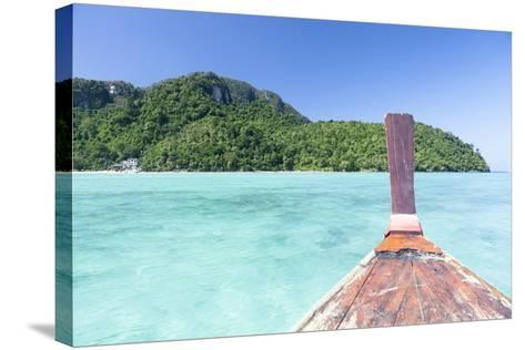 Longtail Boat Cruise at Koh Phi Phi, Thailand, Andaman Sea-Harry Marx-Stretched Canvas Print