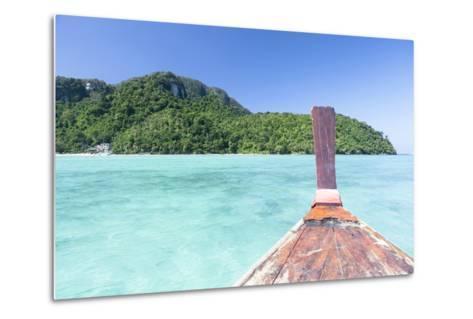Longtail Boat Cruise at Koh Phi Phi, Thailand, Andaman Sea-Harry Marx-Metal Print