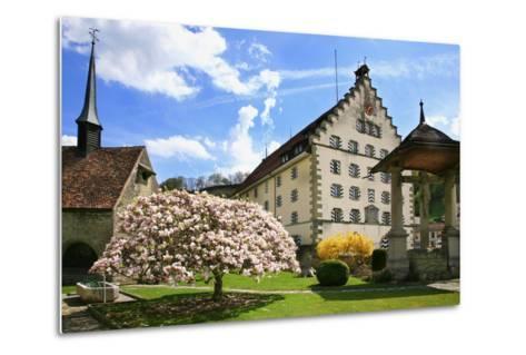 Switzerland, Fribourg on the Sarine River, 'Planche Superieure'-Uwe Steffens-Metal Print