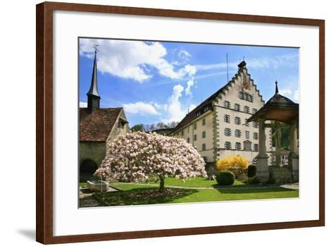 Switzerland, Fribourg on the Sarine River, 'Planche Superieure'-Uwe Steffens-Framed Art Print