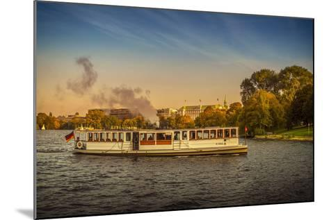 Germany, Hamburg, City Centre, the Alster, Outer Alster, Autumn-Ingo Boelter-Mounted Photographic Print