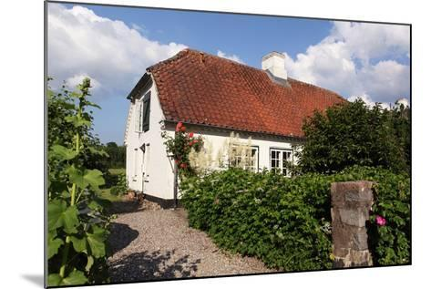 Schleswig-Holstein, Sieseby, Village, Typical Residential House-Catharina Lux-Mounted Photographic Print