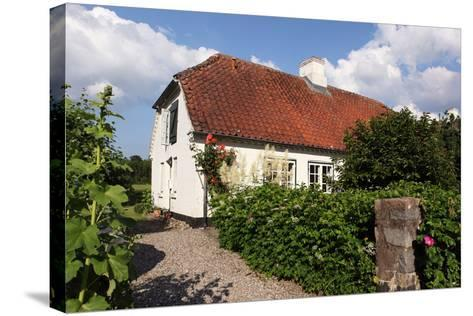 Schleswig-Holstein, Sieseby, Village, Typical Residential House-Catharina Lux-Stretched Canvas Print