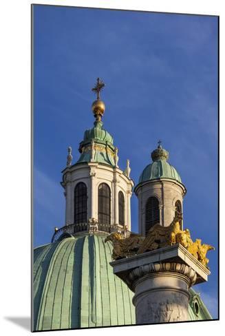 Europe, Austria, Vienna, St. Charles's Church-Gerhard Wild-Mounted Photographic Print