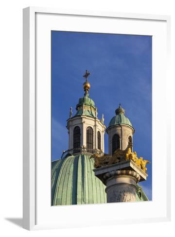 Europe, Austria, Vienna, St. Charles's Church-Gerhard Wild-Framed Art Print