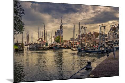 The Netherlands, Hoorn, Harbour, Tower, Hoofdtoren-Ingo Boelter-Mounted Photographic Print