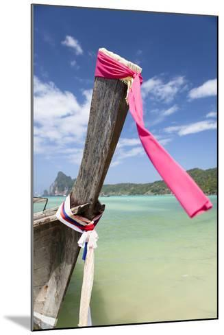 Typical Longtail Boat at Koh Phi Phi, Thailand, Andaman Sea-Harry Marx-Mounted Photographic Print