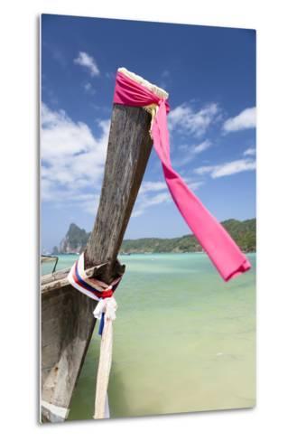 Typical Longtail Boat at Koh Phi Phi, Thailand, Andaman Sea-Harry Marx-Metal Print