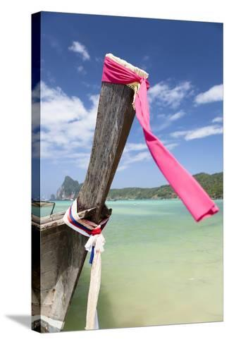Typical Longtail Boat at Koh Phi Phi, Thailand, Andaman Sea-Harry Marx-Stretched Canvas Print