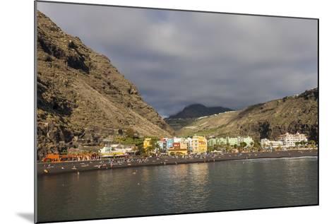 Puerto De Tazacorte, La Palma, Canary Islands, Spain, Europe-Gerhard Wild-Mounted Photographic Print