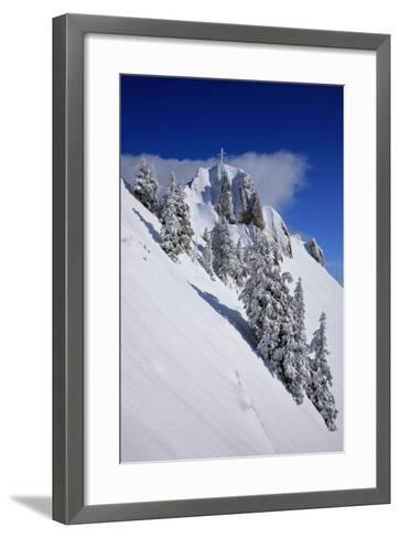 Germany, Bavaria, Highest Spot of the 'Tegelberg' (Mountain) Near FŸssen-Uwe Steffens-Framed Art Print