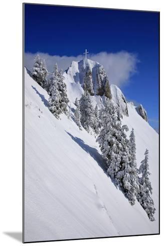 Germany, Bavaria, Highest Spot of the 'Tegelberg' (Mountain) Near FŸssen-Uwe Steffens-Mounted Photographic Print
