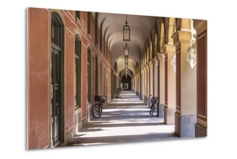 Germany, Bavaria, Upper Bavaria, Munich, Hofgarten (Park), Arcade-Udo Siebig-Metal Print