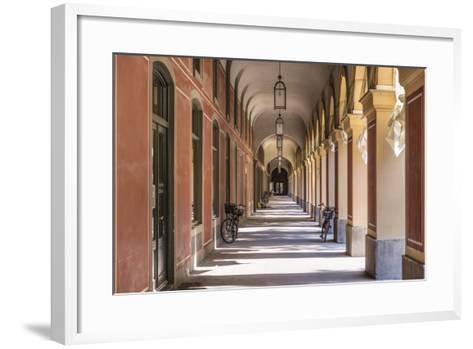 Germany, Bavaria, Upper Bavaria, Munich, Hofgarten (Park), Arcade-Udo Siebig-Framed Art Print