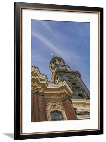 Germany, Hamburg, Neustadt, Church, St. Michaelis, Michel-Ingo Boelter-Framed Art Print