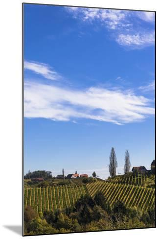 Europe, Austria, Styria, South-Styrian Wine Route, Vineyards, Houses-Gerhard Wild-Mounted Photographic Print