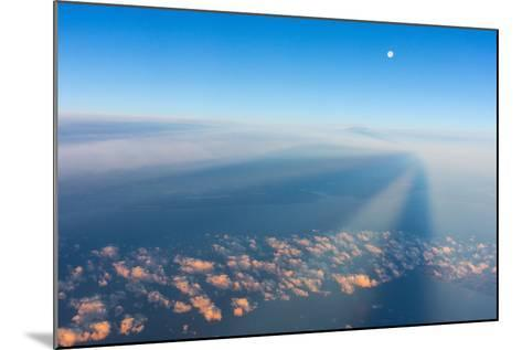 Flight, Moon, Clouds, Sunrise-Catharina Lux-Mounted Photographic Print