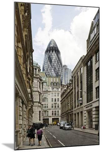 Architecture Mix, Modern and Classical Architecture, Lloyd's Avenue-Axel Schmies-Mounted Photographic Print