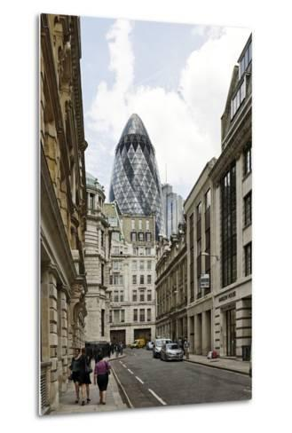 Architecture Mix, Modern and Classical Architecture, Lloyd's Avenue-Axel Schmies-Metal Print