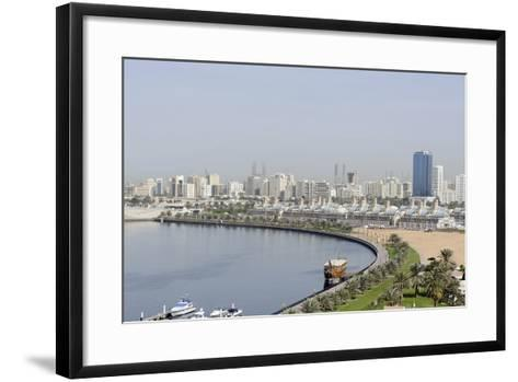 Old Souk, Blue Souk, Traditional Shopping Centre, Emirate of Sharjah, United Arab Emirates-Axel Schmies-Framed Art Print
