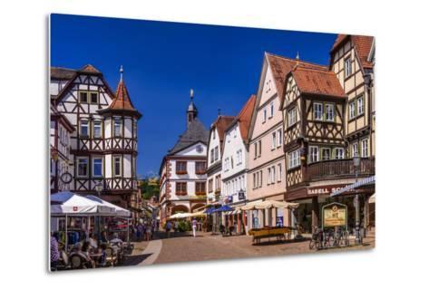 Germany, Bavaria, Lower Franconia, Main-Franconia, Lohr (River) Am Main-Udo Siebig-Metal Print