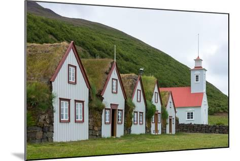 Turf House Laufas-Catharina Lux-Mounted Photographic Print