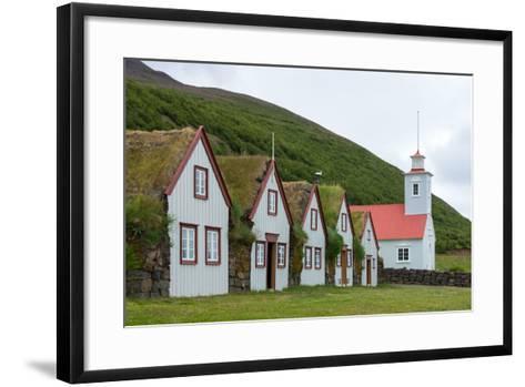 Turf House Laufas-Catharina Lux-Framed Art Print