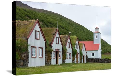Turf House Laufas-Catharina Lux-Stretched Canvas Print