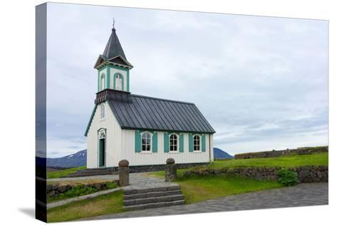 Pingvellir National Park, Church-Catharina Lux-Stretched Canvas Print
