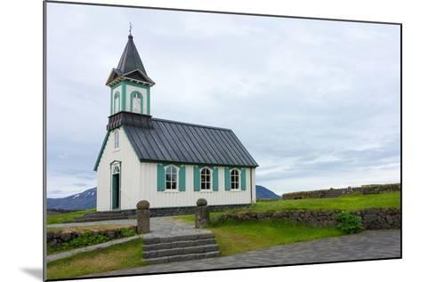 Pingvellir National Park, Church-Catharina Lux-Mounted Photographic Print