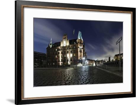 Kannengie§erbrŸcke (Bridge), Neuer Wandrahm (Area), Hamburg-Mitte-Axel Schmies-Framed Art Print